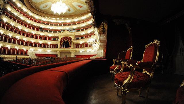Большой театр в Москве. Архивное фото
