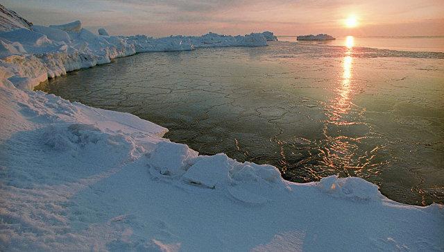 Арктика. Рассвет. Архивное фото
