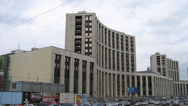 Здание Внешэкономбанка в Москве. Архивное фото