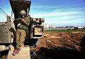 Боец армии Израиля