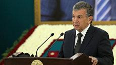 Премьер-министр Узбекистана Шавкат Мирзиеев. 3 сентября 2016 года