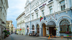 Старый город Вильнюса, Литва. Архивное фото