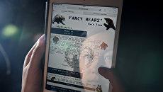 Сайт хакерской группы Fancy Bear. Архивное фото
