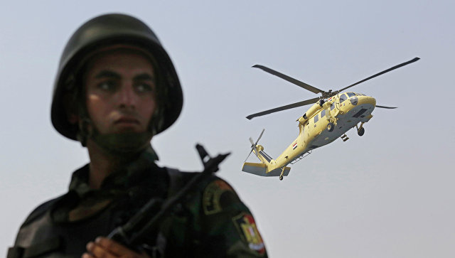 Армия Египта уничтожила на границе с Ливией десять машин боевиков
