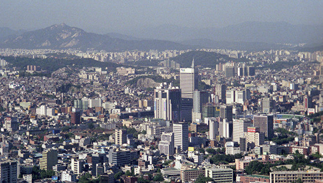 Вид на город Сеул. Архивное фото