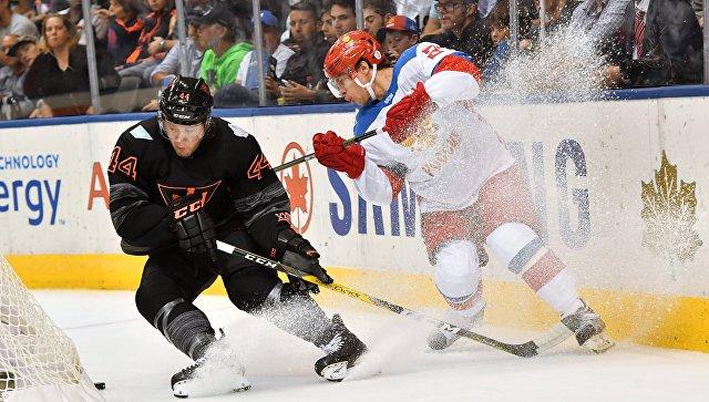 Хоккей. Кубок мира. Матч Россия- Северная Америка