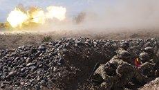 Военнослужащие во время международных антитеррористических учений ШОС Мирная миссия-2016