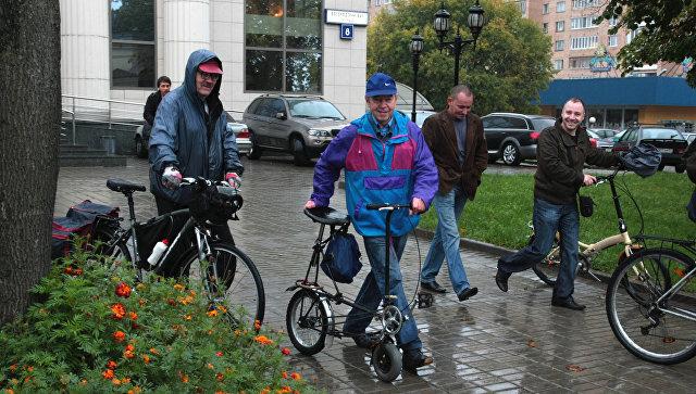 15 тыс. человек приняли участие ввелопараде воВсемирный день без автомобиля