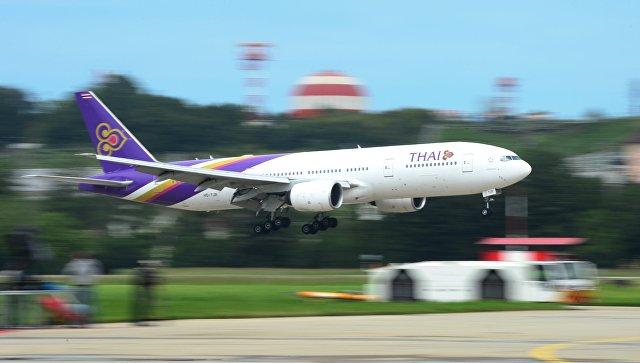 Thai Airways с15декабря возобновит рейс из столицы вБангкок