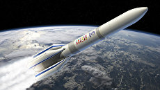 Новая европейская ракета-носитель Ariane-6 на рисунке художника ESA. Архивное фото