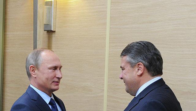 У РФ большое количество друзей вГермании— Путин
