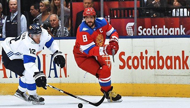 Хоккей. Кубок мира. Матч Россия - Финляндия