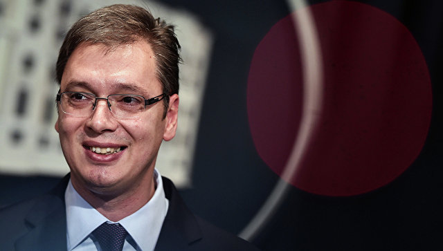 Премьер-министр Сербии Александр Вучич. Архивное фото
