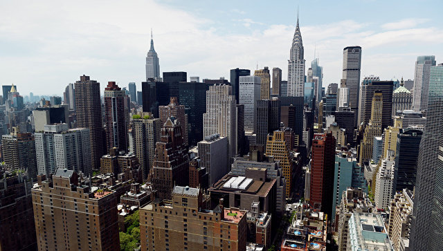 Вид на Нью-Йорк. Архивное фото