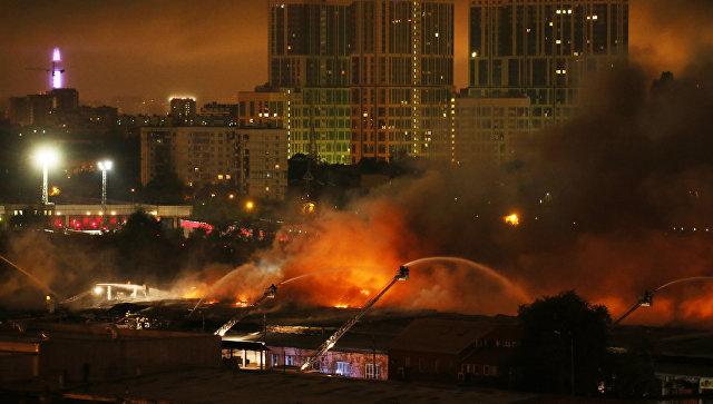 При ликвидации пожара пропади 8 пожарных