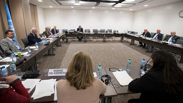 Межсирийские переговоры