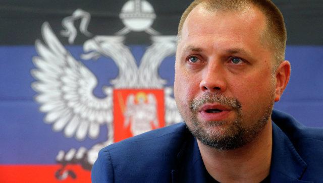 Премьер-министр ДНР Александр Бородай, архивное фото