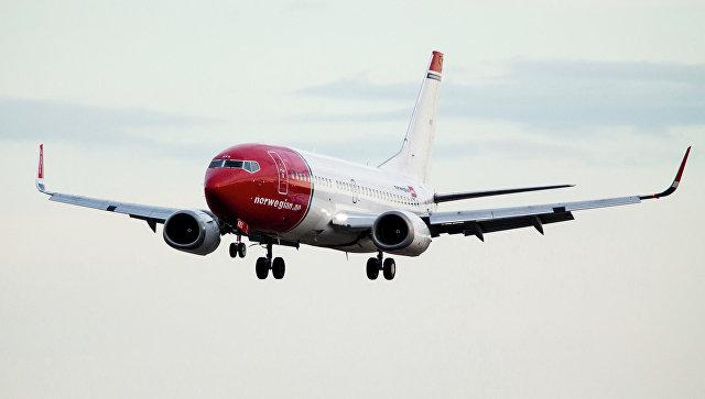 Самолет авиакомпании Norwegian. Архивное фото