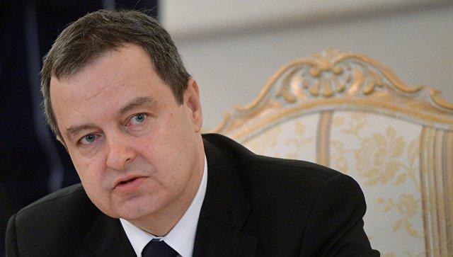 Дачич установил «точку» вспекуляциях поповоду антироссийского курса Сербии