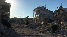 Ситуация в Алеппо Архивное фото