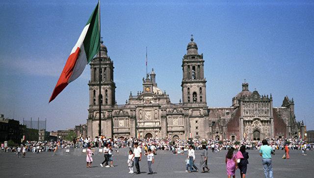 Ситуация в Мехико. Архивное фото