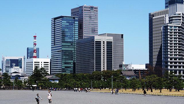 Вид на город Токио