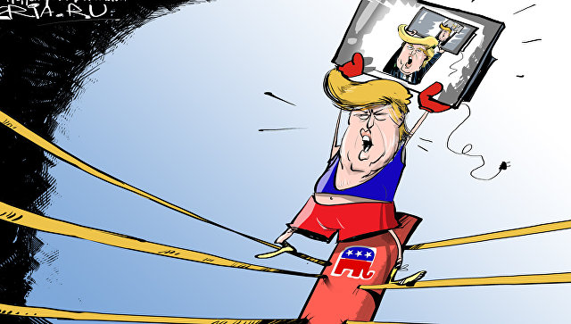 В красном углу ринга