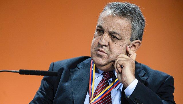 Вице-президент венесуэльской государственной нефтяной компании PDVSA Эулохио дель Пино