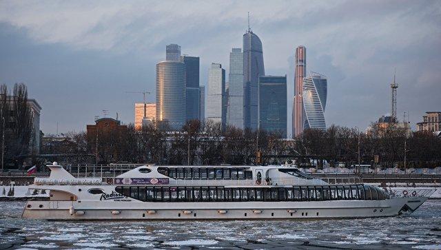 Зимняя Москва. Архивное фото