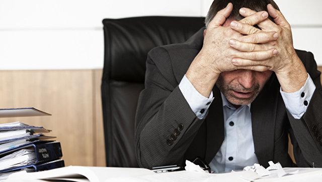Стресс на рабочем месте, архивное фото