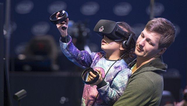 Виртуальная реальность. Архивное фото