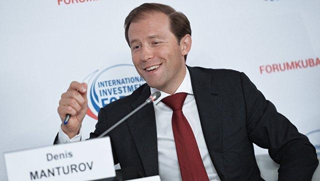 Мантурова выдвинули в директорский состав «Газпрома» наместо Улюкаева