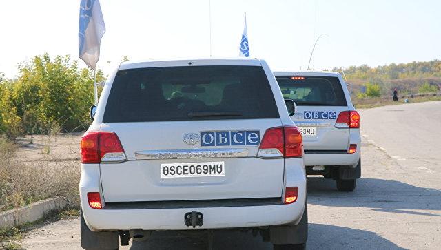 В ОБСЕ заявили, что Украина нарушает условия отвода техники в Донбассе