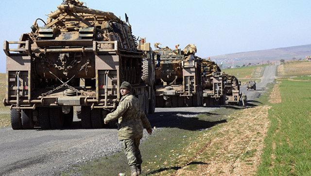 Турецкий военный. Архивное фото