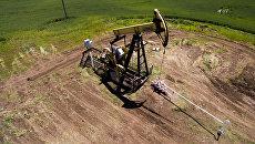 Нефтяной станок-качалка в Северском районе Краснодарского края. Архивное фото