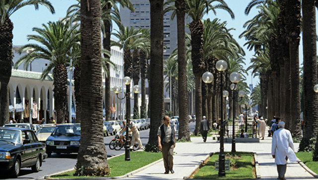 Город Касабланка в Марокко. Архивное фото