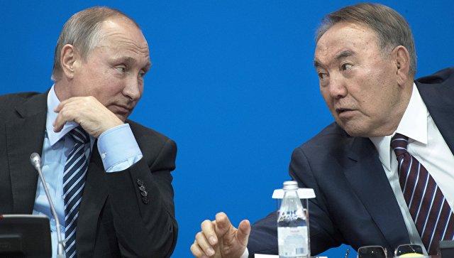 Путин иНазарбаев после форума вАстане поглядели фильм «28 панфиловцев»