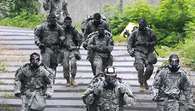 Батальон США расквартируют в58 километрах отграницы сРФ