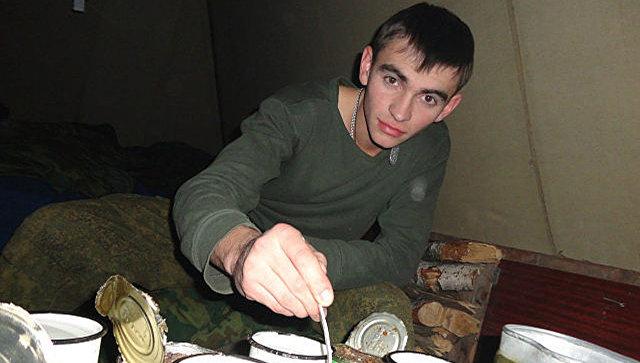 Старший лейтенант Александр Прохоренко