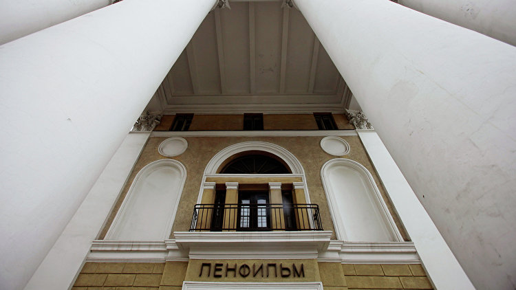 Здание киностудии Ленфильм в Санкт-Петербурге. Архивное фото.