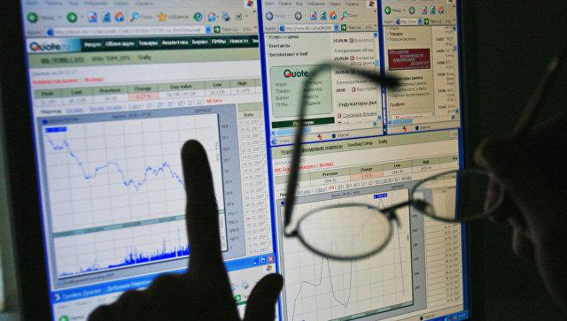 График состояния финансового рынка. Архивное фото