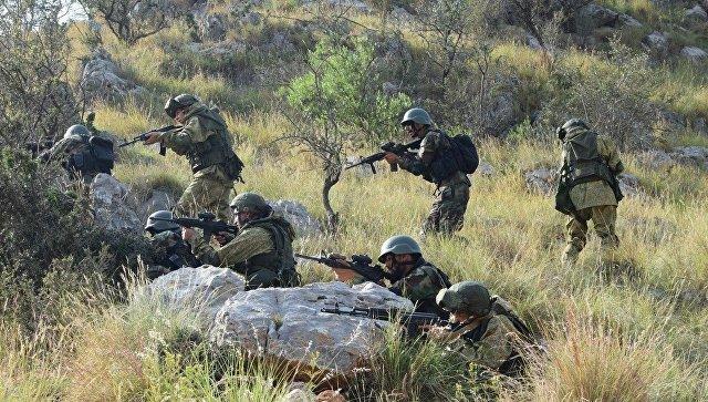Российско-пакистанские учения начались вКарачаево-Черкесии