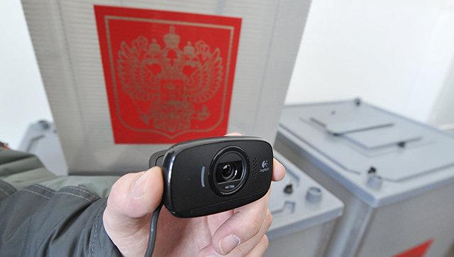 Установка веб-камер на избирательных участках. Архив