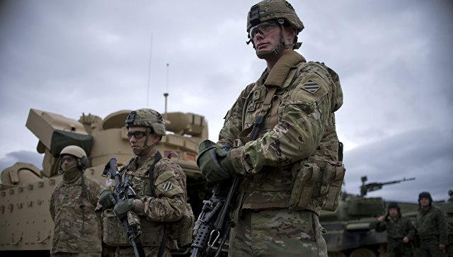 Солдаты армии США на учениях Blowback 2016. Архивное фото