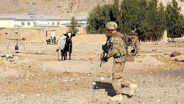 Солдат армии США в провинции Нангархар, Афганистан