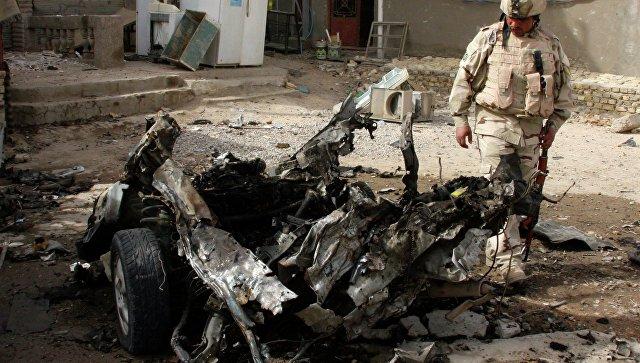 Теракте вИраке: вБагдаде произошел взрыв