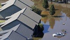 Последствия урагана Мэтью в Северной Каролине. 11 октября 2016