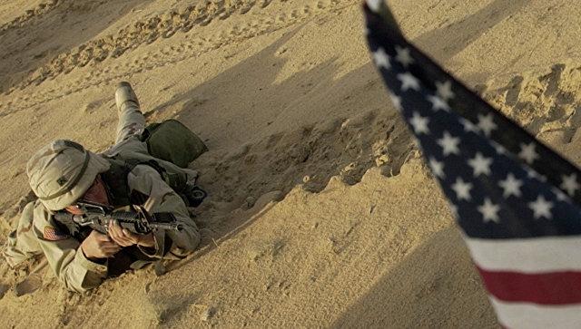 Американский солдат, архивное фото