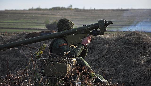 Тактические военные учения в ЛНР. Архивное фото