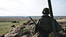 Военные в ЛНР. Архивное фото